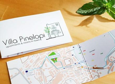 Villa Pinelopi Logo Design