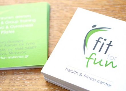 fit for fun logo design