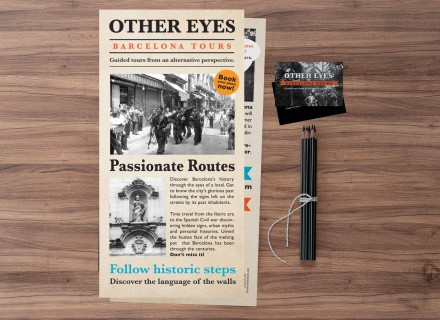 other eyes flyer and business card