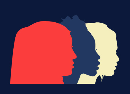 Banner design for diotima, Centre for Research on Women's Issues